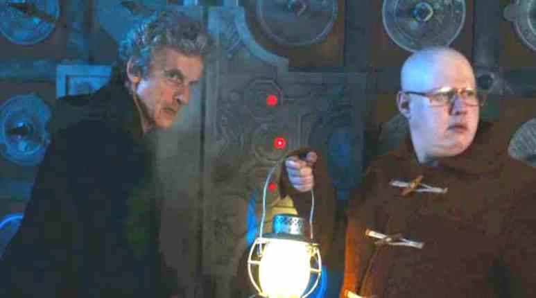 The Doctor and Nardole investigate the vault