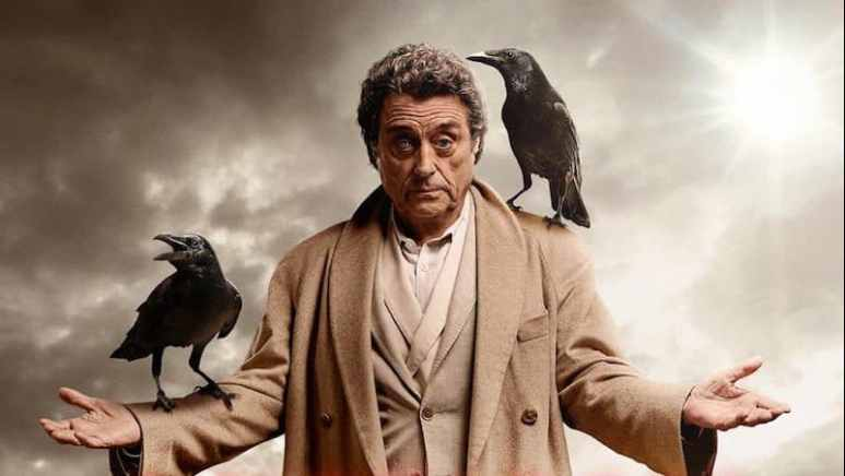 Ian McShane as the enigmatic Mr. Wednesday on American Gods