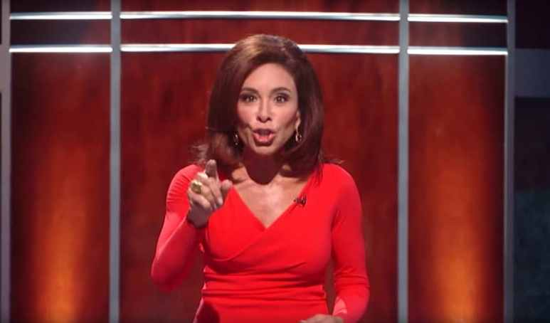 Jeanine Pirro hosting You The Jury on Fox, where viewers decide the verdict of cases
