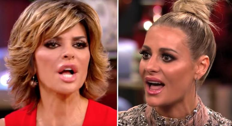 Lisa and Dorit yell at each other on the RHOBH Season 7 reunion