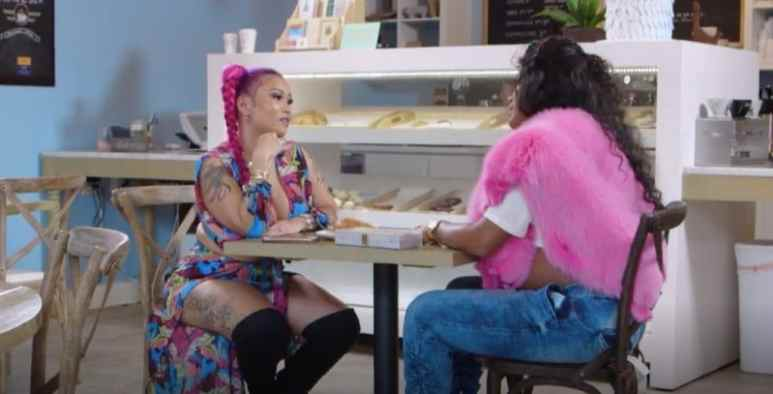 Joseline and Mimi sit down for a chat