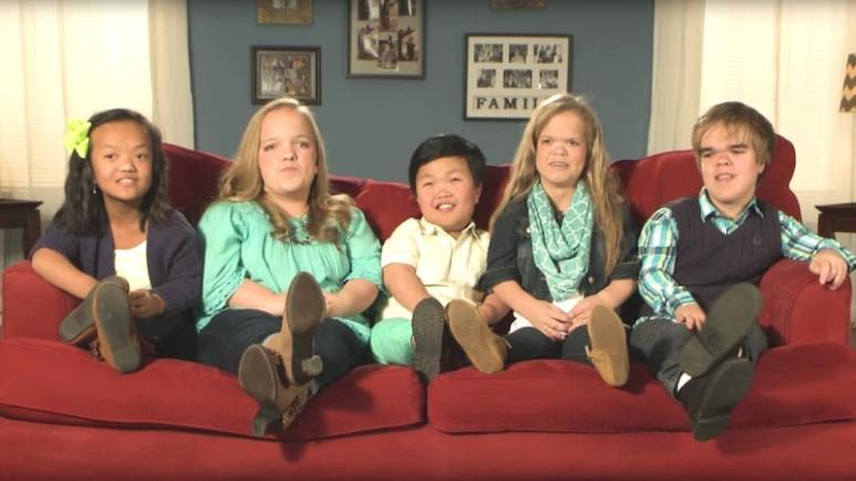 The five kids in the family on TLC's 7 Little Johnstons