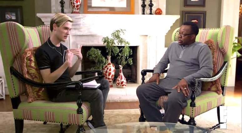 Tyler Henry does a reading for Bobby Brown