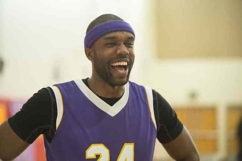 DeMario in basketball kit on The Bachelorette