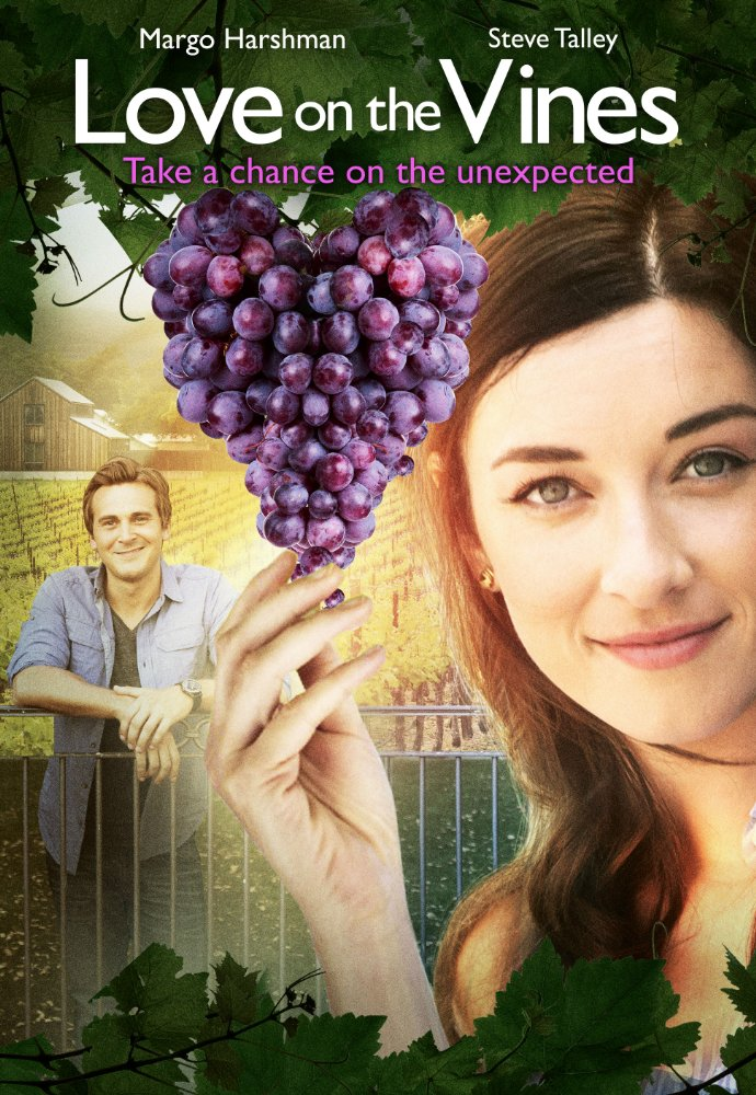Margo Harshman stars in Love on the Vine