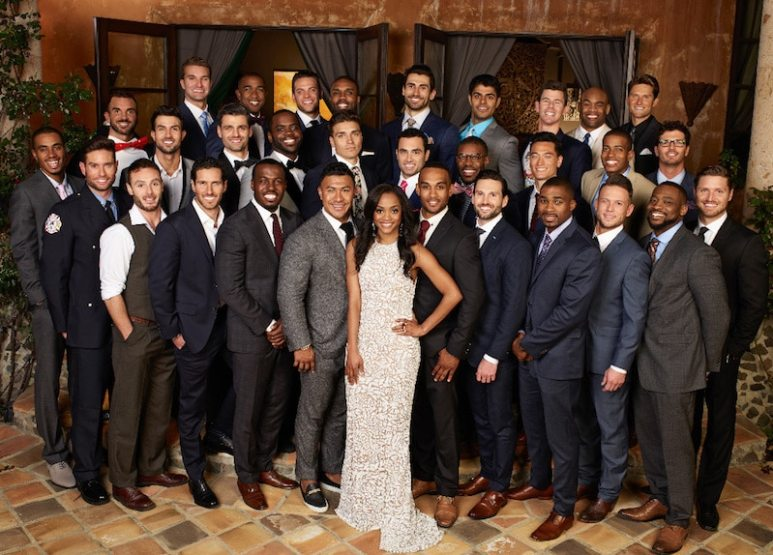 Picture of the whole cast of The Bachelorette Season 13