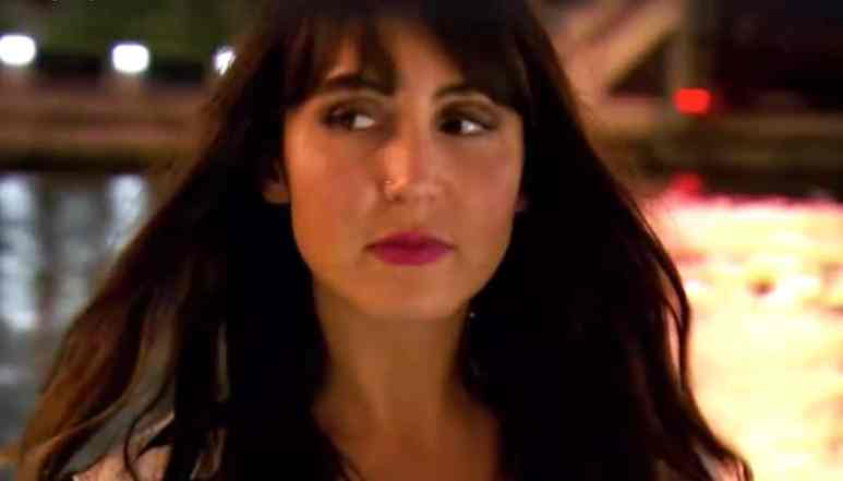 Danielle looking worried on Married at First Sight