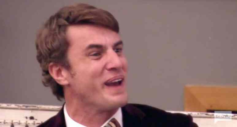 Shep with an angry face on the Southern Charm Season 4 finale