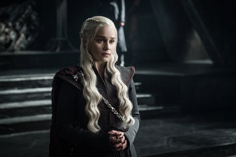 Daenerys at Dragonstone in Game of Thrones