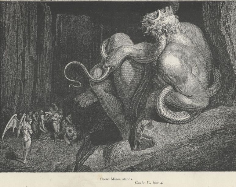 Gustave Doré's Minos