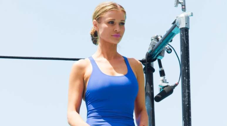 Joanna Krupa on Battle of the Network Stars ABC/Kelsey McNeal)
