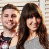 Married at First Sight's Cody Knapek and Danielle DeGroot sitting next to each other