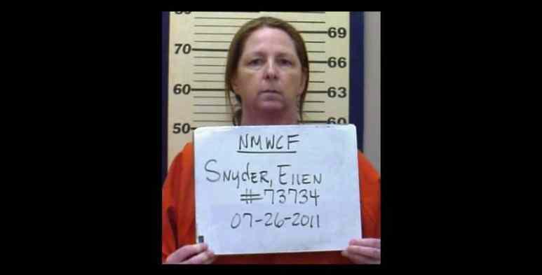 Ellen Snyder mugshot