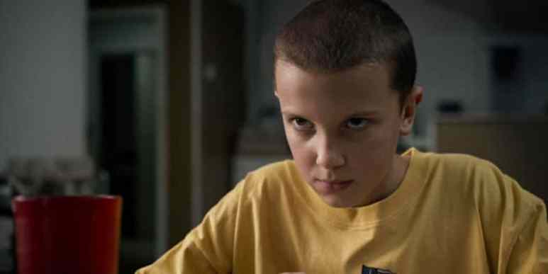 Millie Bobbie Brown in Stranger Things