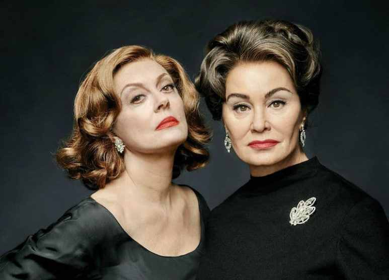 Susan Sarandon and Jessica Lange in Feud