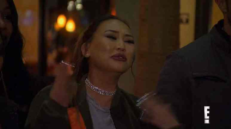 Dorothy reacts with a grimace on Famously Single