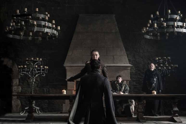 Arya Stark, Petyr Baelish