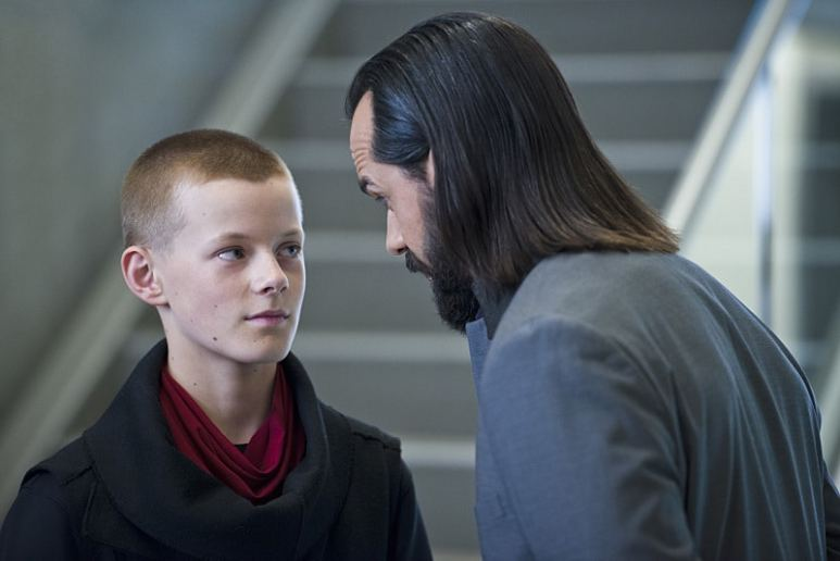 Cory Guter-Andrew and Casper Crump in Legends of Tomorrow