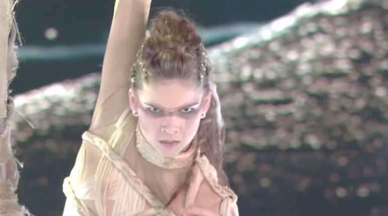 Eva Igo dancing on World of Dance