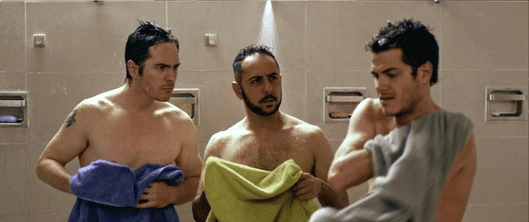 L-R Hazlo Como Hombre stars Mauricio Ochmann, Humberto Busto and Alfonso Dosal