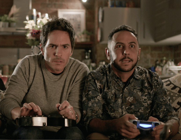 Hazlo Como Hombre stars Mauricio Ochmann and Humberto Busto
