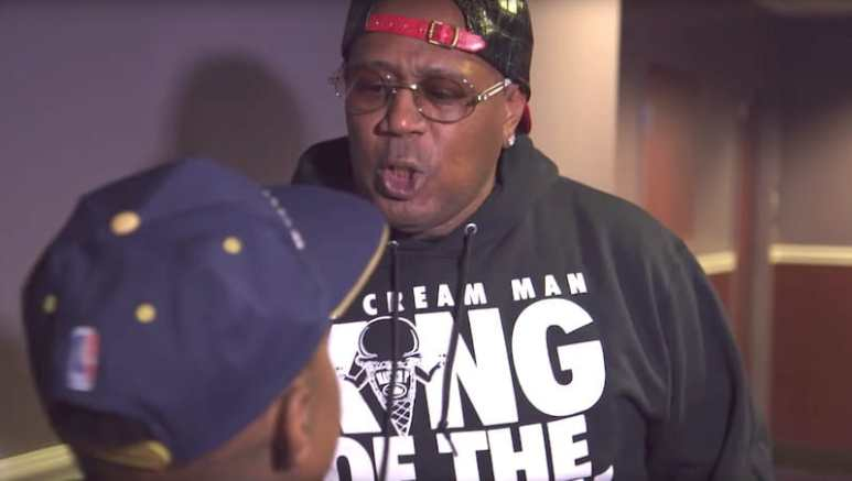 Master P shouting at Lil One on Growing Up Hip Hop