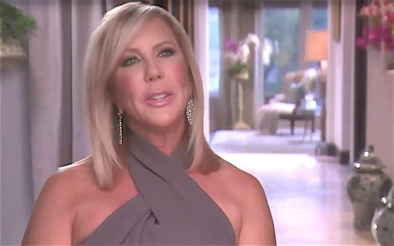 Vicki Gunvalson speaking on The Real Housewives of Orange County