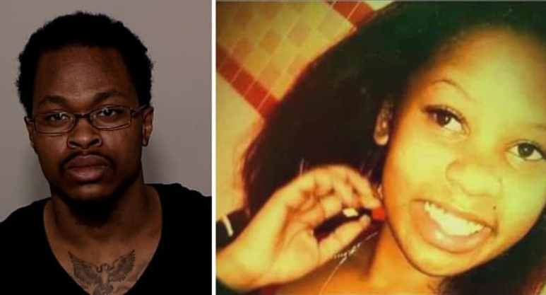 Photos of Palmer and his victim Brittany Clardy
