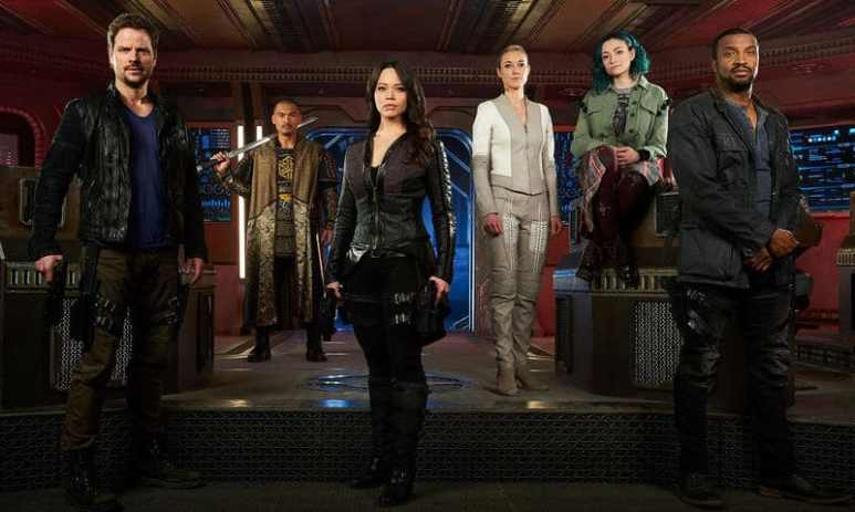 The Dark Matter cast