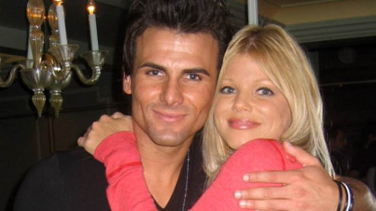Donna D'Errico and Jeremy Jackson at the Baywatch Reunion DVD Release Party