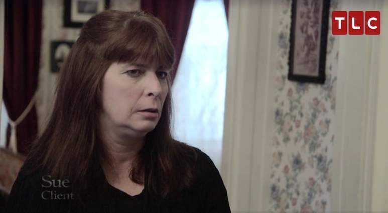 Lizzie Borden House guide Sue on Kindred Spirits