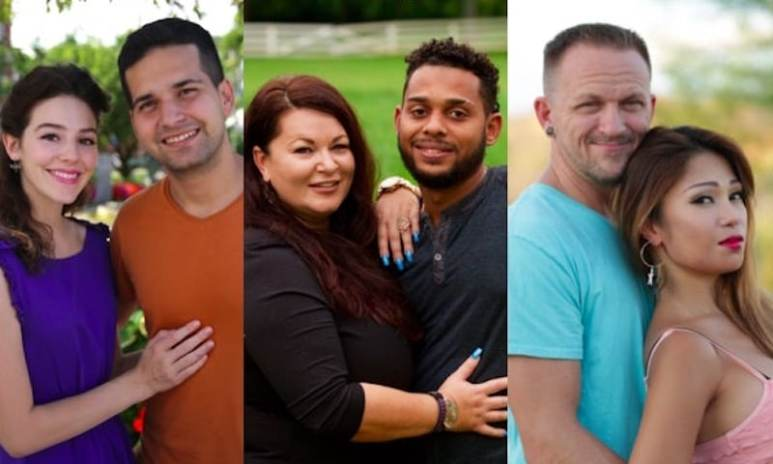 Three of the new couples in the 90 Day Fiance Season 5 cast