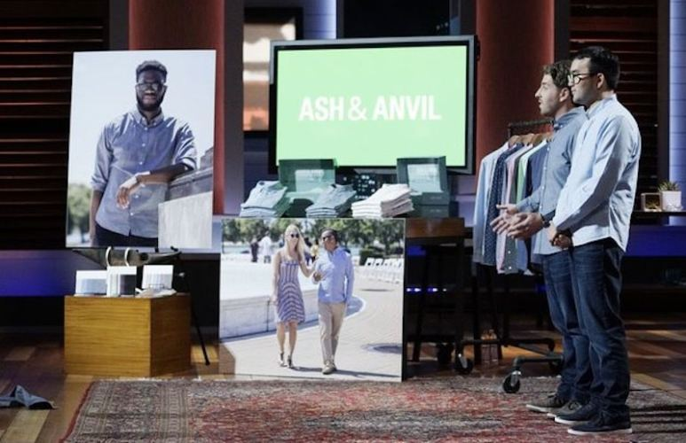 Steven Mazur and Eric Huang of Ash & Anvil, now called Ash & Erie, on Shark Tank