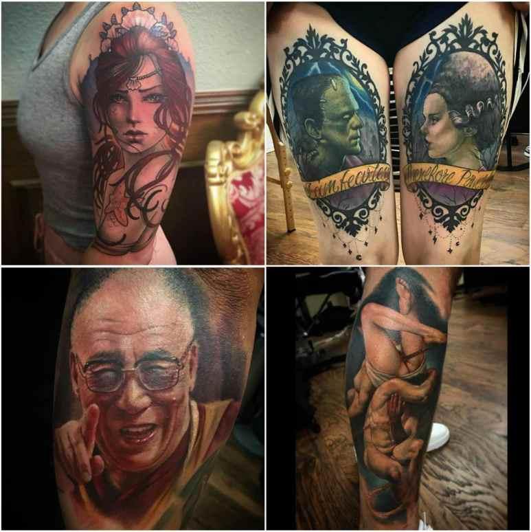 Deanna Smith's tattoo work