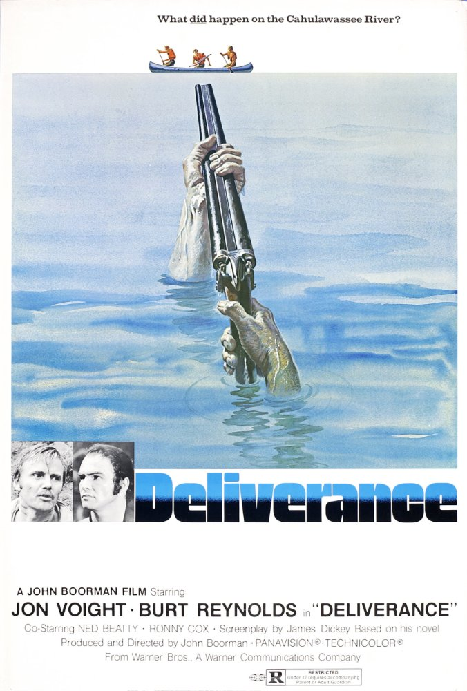 Poster for the movie Deliverance