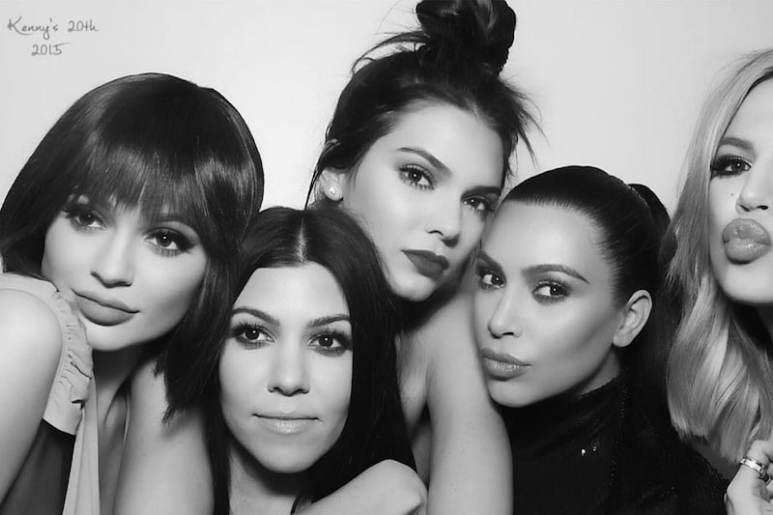 The Kardashians using MirMir photo booth