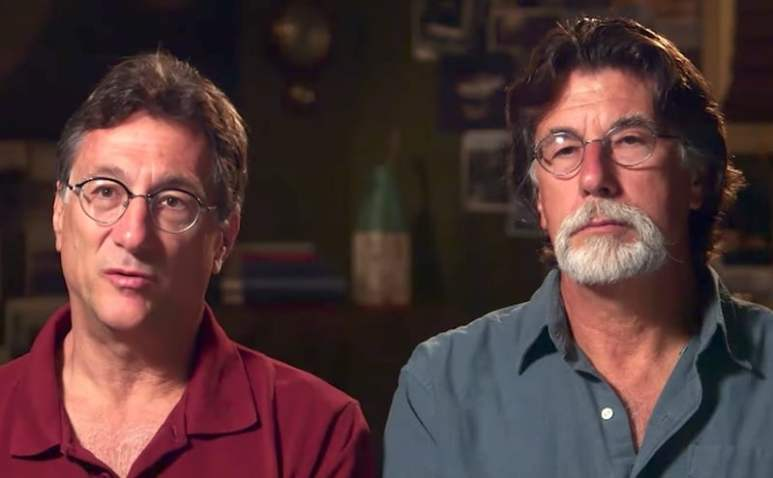 Marty and Rick Lagina in the trailer for The Curse of Oak Island Season 5