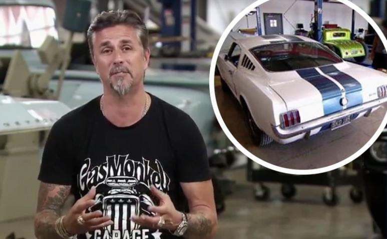Richard Rawlings and the Shelby GT350 on Fast N' Loud