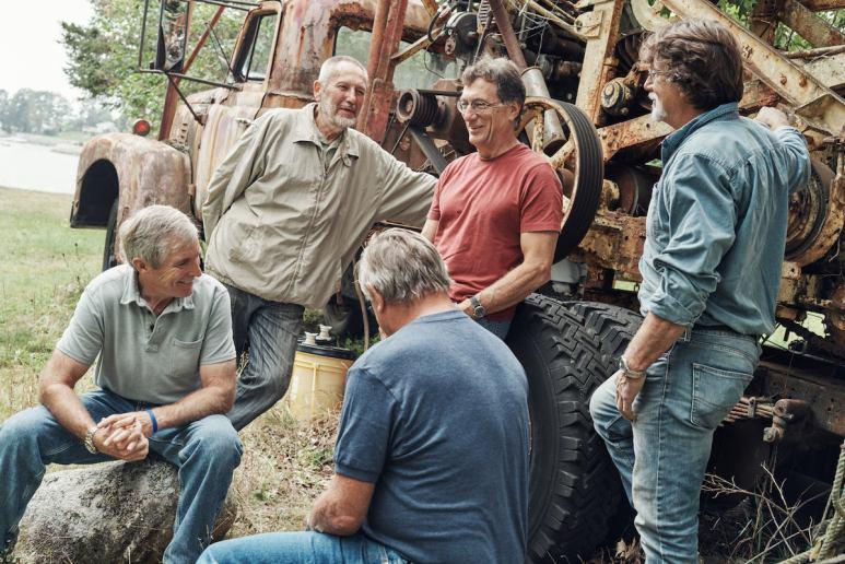 Craig Tester, Dan Henskee, Dave Blankenship, Marty Lagina and Rick Lagina
