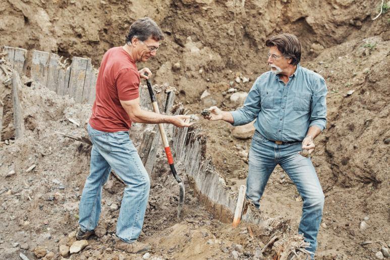 Marty and Rick Lagina on The Curse of Oak Island Season 5