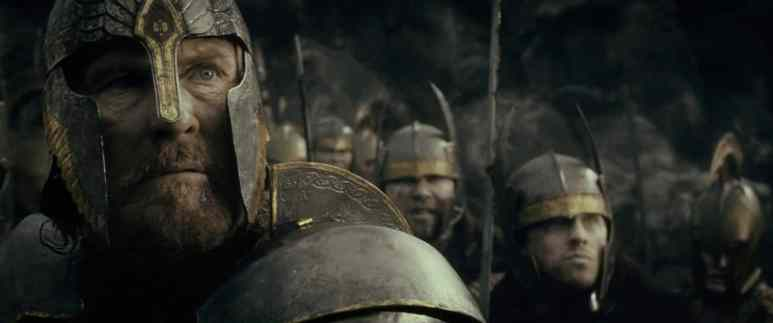 Elendil as seen in the movies