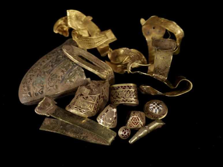 Anglo-Saxon treasure trove