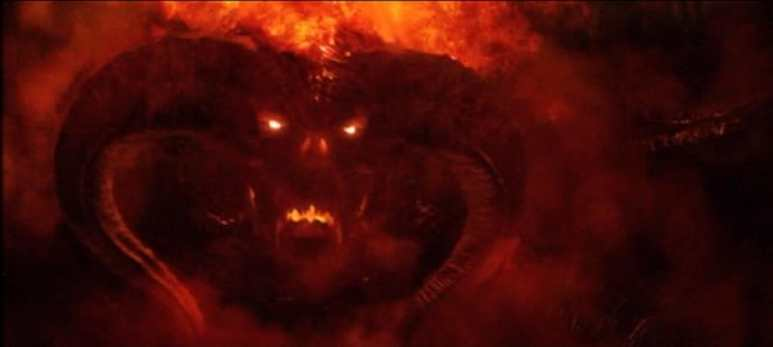 A balrog in Moria caused havoc but in The Silmarillion there are whole hosts of them fighting