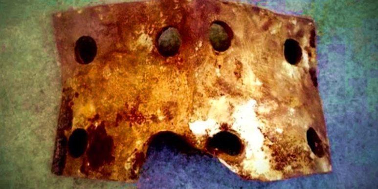 Metal fragment found on Oak Island