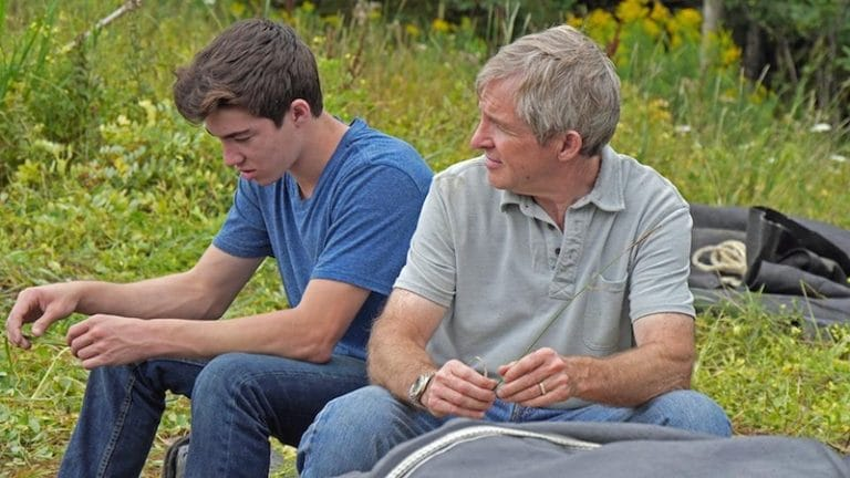 Craig Tester and his son Drake Tester