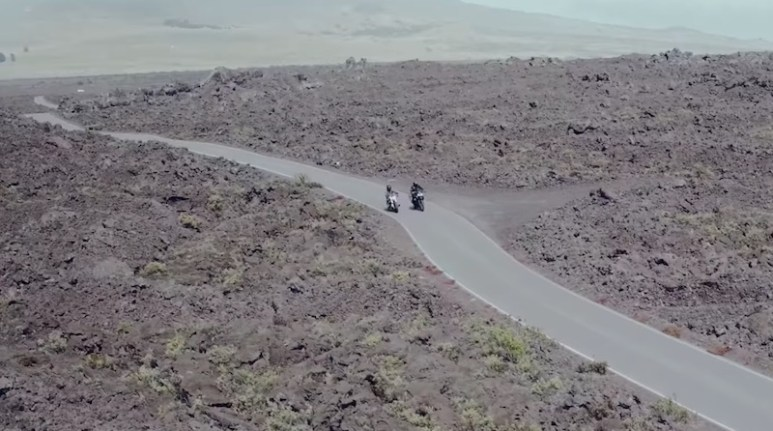 Volcano road on Ride with Norman Reedus