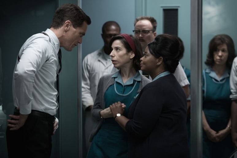 Michael Shannon, Sally Hawkins and Octavia Spencer