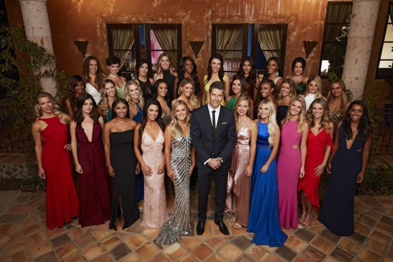 Arie and the 29 women on The Bachelor Season 22