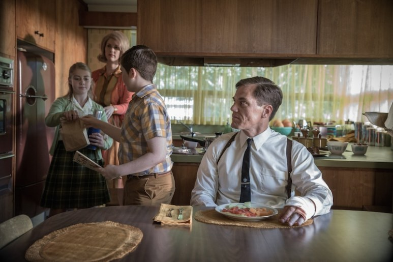Michael Shannon as Strickland
