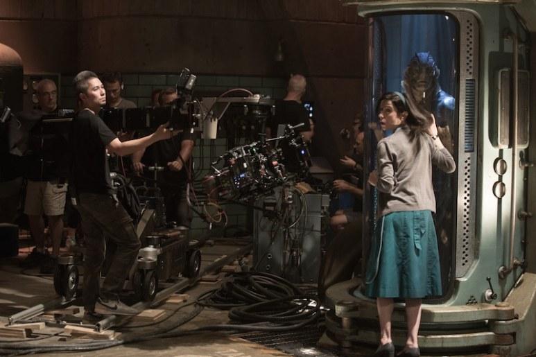 Shape of Water behind the scenes